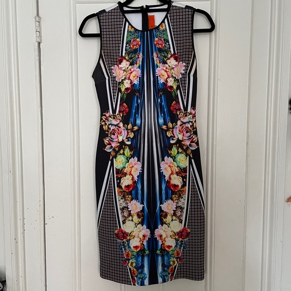 Clover Canyon Printed Floral Dress